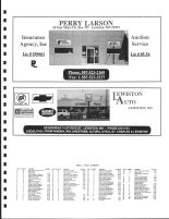 Utica Township Owners Directory, Ad - Perry Larson Insurance Agency, Inc., Lewiston Auto, Winona County 2004